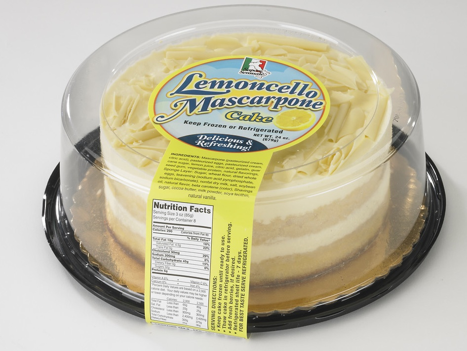 Limoncello Mascarpone Cake 7 Retail Taste It Presents